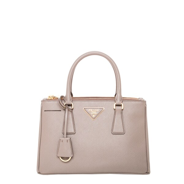 Prada Clay Saffiano Leather Mini Tote