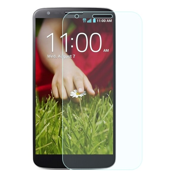 Insten 0.33mm Clear Tempered Glass LCD Screen Protector Film Cover For LG G2