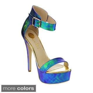 MACHI CL-AGALO-1 Women's High Platform Heels