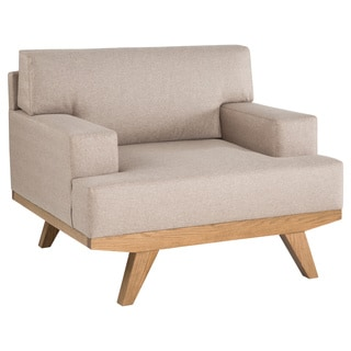 Ink+Ivy Martin Natural Lounge Chair