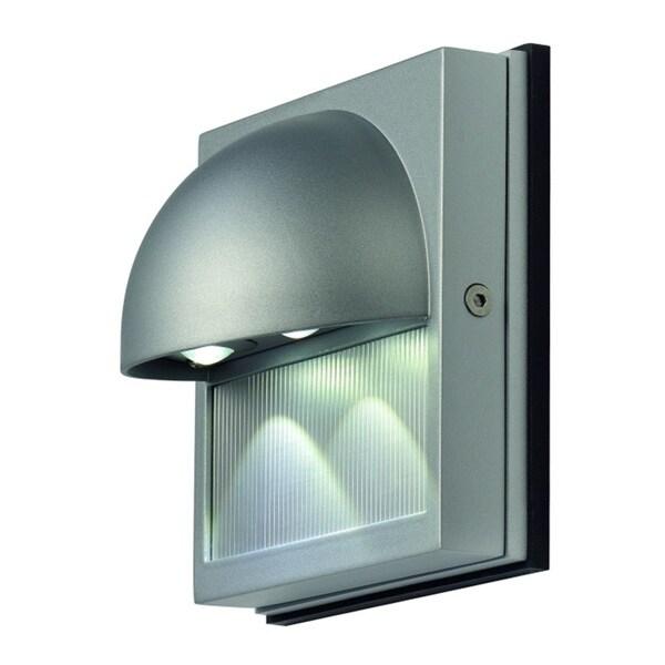 Dacu LED Silver 2-light Wall Lamp