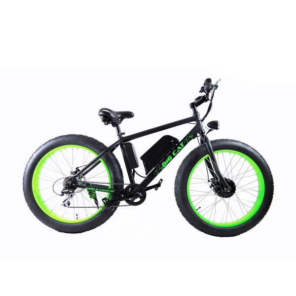 Big Cat Fat Cat Unisex All Terrain Adult Electric Bicycle