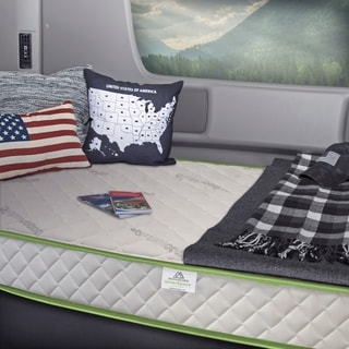 InnerSpace Luxury Deluxe 8-inch RV and Truck Reversible Memory Foam Mattress
