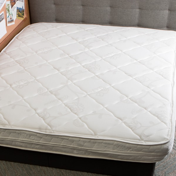 InnerSpace Luxury Deluxe 8-inch King-size Reversible RV Memory Foam Mattress