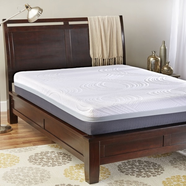 InnerSpace Sleep Luxury 10-inch Twin XL-size High Density Foam Mattress