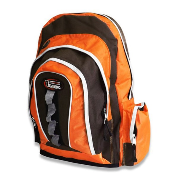 Multi-Purpose Orange/ Black Storage Backpack