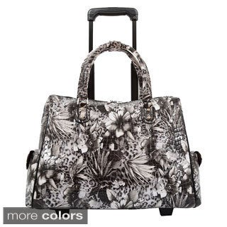 Mellow World Evelyn Rolling Carry-on Laptop Tote Bag