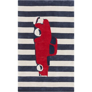 Hand-Tufted Berwick Print Area Rug
