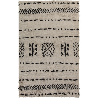 Hand-Knotted Priscilla Abstract Wool Rug (2' x 3')