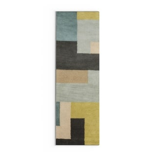 Hand-Tufted Danelli Contemporary Wool Rug (2'6 x 8')