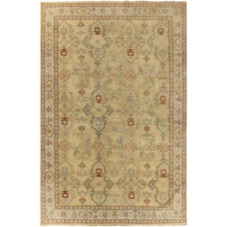 Hand-Knotted Greyson Medallion New Zealand Wool Rug (6' x 9')