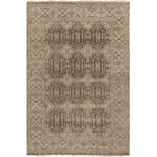 Hand-Knotted Archer Oriental New Zealand Wool Rug (5'6 x 8'6)