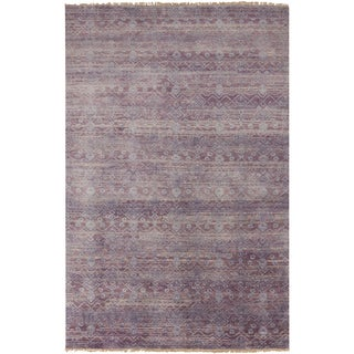 Hand-Knotted Anabel Vintage New Zealand Wool Rug (5'6 x 8'6)