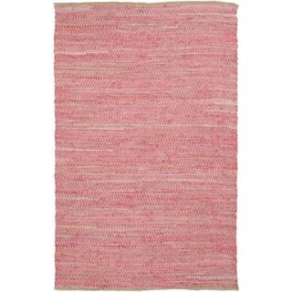Hand-Loomed Frantz Stripe Reversible Rug (5' x 8')