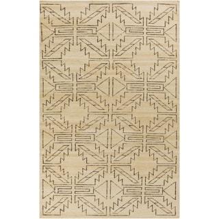 Hand-Knotted Amani Kilim Wool Rug (3'6 x 5'6)