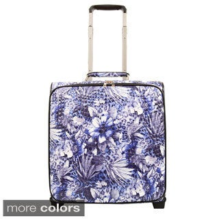 Mellow World Evelyn 16-inch Rolling Upright Carry-on Upright Suitcase