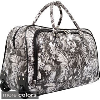 Mellow World Evelyn Rolling Carry-on Duffel Bag