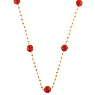 Alchemy Jewelry Carnelian Gemstone Necklace