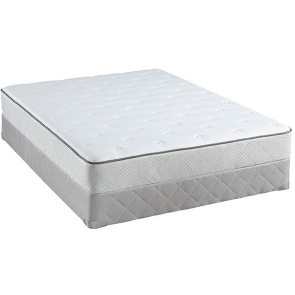 Sealy Posturepedic Classic Laurinburg 9.5-inch California King-size Firm Mattress Set