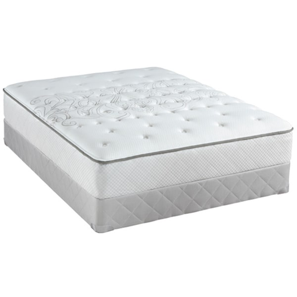 Sealy Posturepedic Classic Crystal City 10-inch California King-size Medium Firm Mattress Set