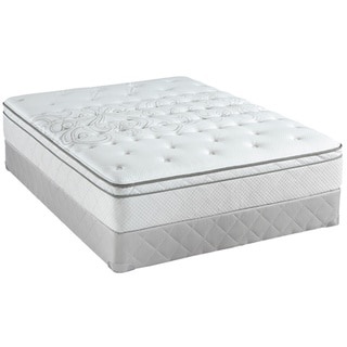 Sealy Posturepedic Classic Crystal City 11.5-inch Full-size Plush Pillow Top Mattress Set