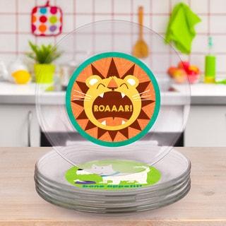 Animal Salad/ Dessert Plate Set
