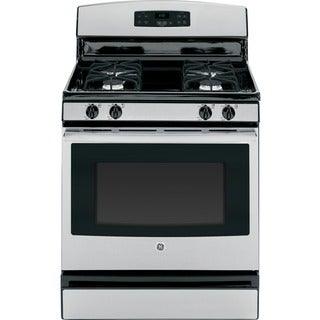 GE 30-inch Stainless Steel Gas Range