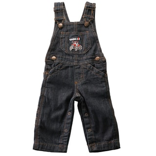 Case IH Infant Indigo Blue Denim Bib Overalls