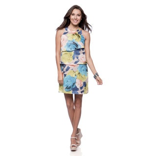 Jessica Simpson Women's Lexie Floral Tiered Sundress
