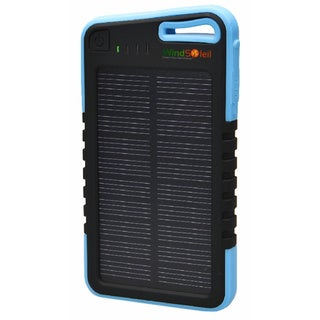 WindSoleil 'Ra' Solar Power 5000mAh Portable Battery Backup Charger