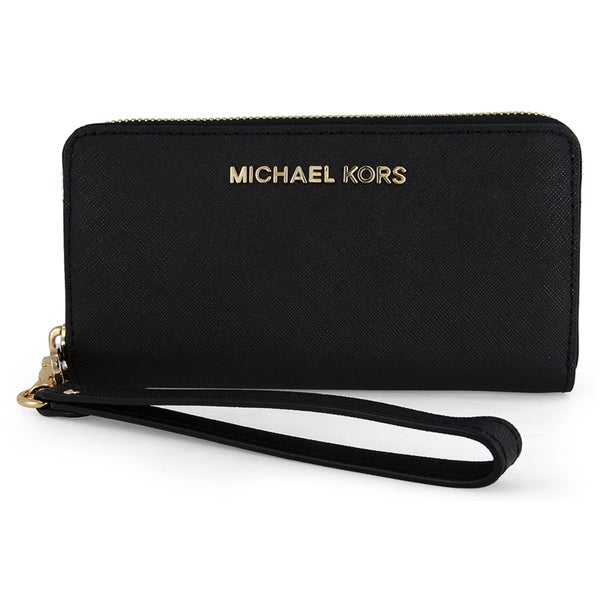 MICHAEL Michael Kors Jet Set Leather Multi Function Phone Case