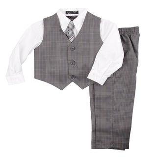 Infants Toddler Boy's Vest 4 pcs Set