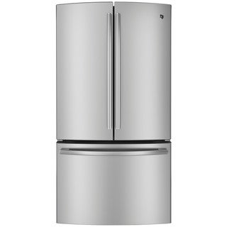 GE Profile Series Stainless Steel 23.1-cubic foot Counter Depth French Door Refrigerator