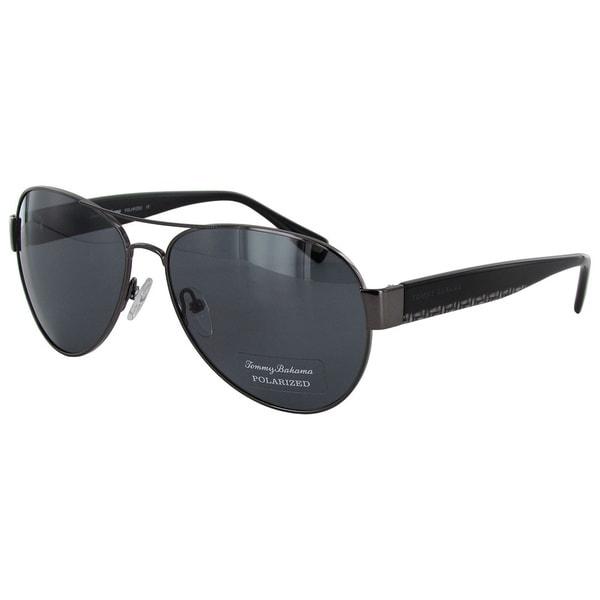 Tommy Bahama Men's Seafarer Aviator Sunglasses