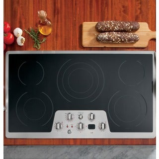 GE Cafe Series 36-inch Built in Electric Cooktop