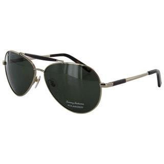 Tommy Bahama Men's 'Rockin the Boat' Polarized Aviator Sunglasses