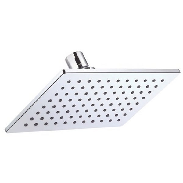 Danze Mono Chic Rectangular 2.0 Gpm Max Flow Polished Chrome Showerhead with Brass Ball Joint
