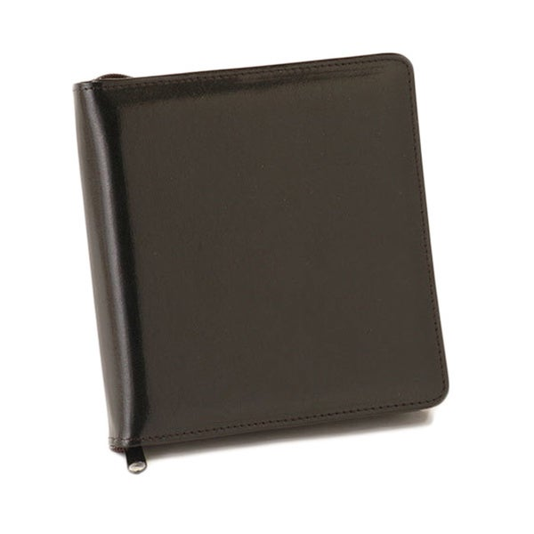 Barrington Spanish Leather Black 12-Disc CD/DVD Case
