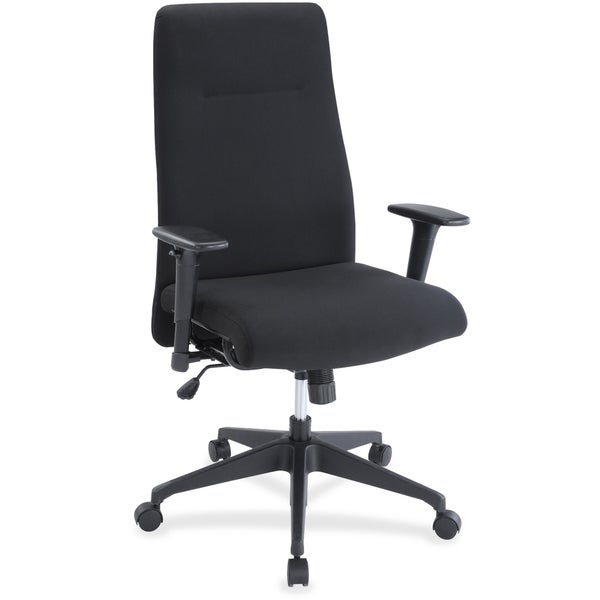 Lorell Synchro-tilt High-back Suspension Chair