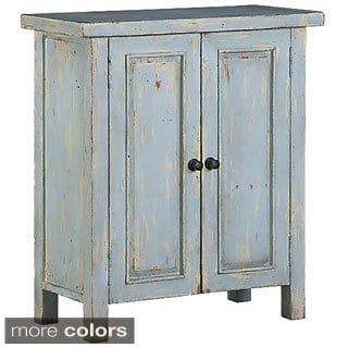 Hillsdale Tuscan Retreat Sea Blue 2-door Small Cabinet