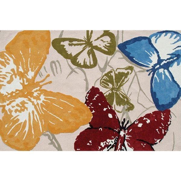 Monarch Butterflies Area Rug (5' x 8')