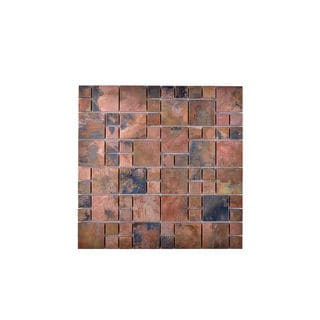 Multi-Copper Wall Tile