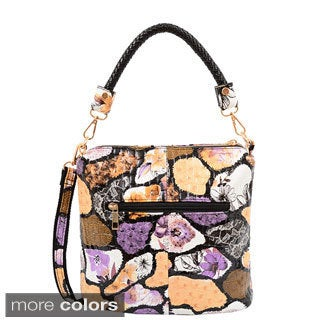 Mellow World Evelyn Abstract Pebble Pattern Bag