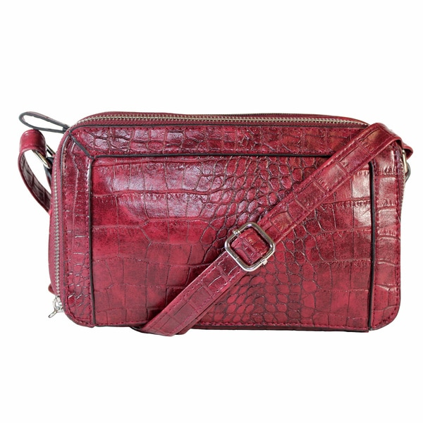 "Bueno ""Maxie""Croc Cross-body"