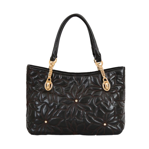 Mellow World Pixie Floral Embossed Shoulder Bag
