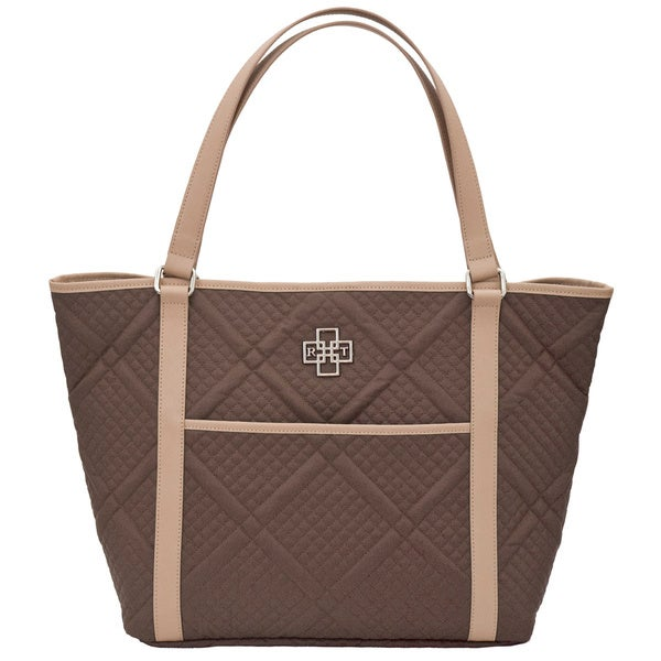 Moderna Quilted Tote Bag