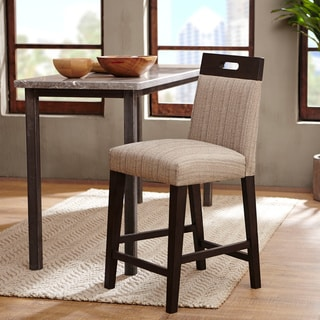 Rosi Cream Bicast Leather Counter Chairs Set Of 4