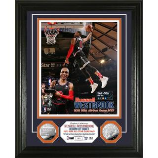 Russell Westbrook 2015 NBA All-Star Game MVP Silver Coin Photo Mint