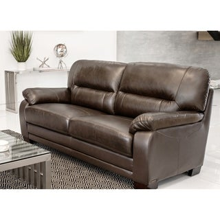 ABBYSON LIVING 'Wilshire' Premium Top-grain Leather Sofa