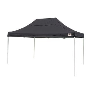 Shelterlogic Black Straight Leg Pop-up Canopy with Roller Bag (10' x 15')